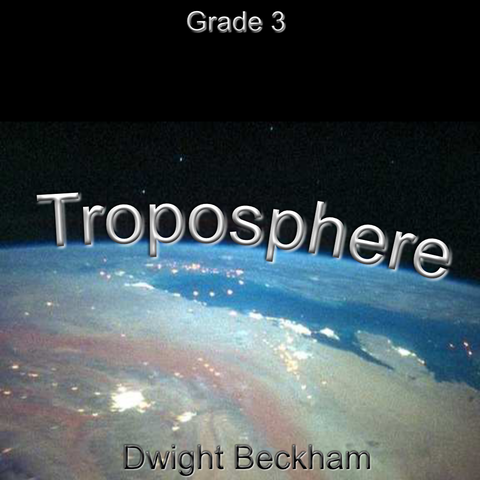 'Troposphere' by Dwight Beckham. Grade 3 sheet music for school bands