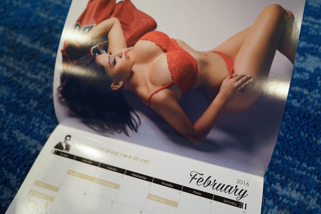 Rhyme Capture 2016 Calendar