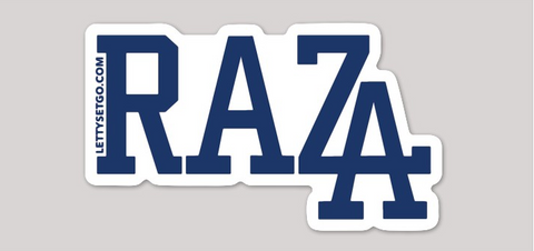 """RAZA LA"" LAPTOP STICKER"