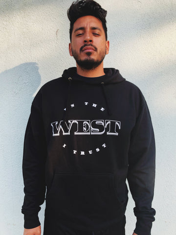 """In The West I Trust"" Hoodie"