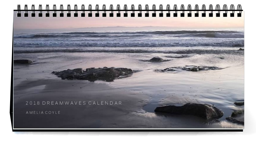 2018 Dreamwaves Desk Calendar