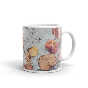 Sandy Leaves Mug