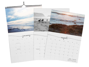 2018 Dreamwaves Large Format Wall Calendar