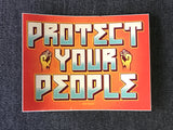 Protect Your People sticker pack