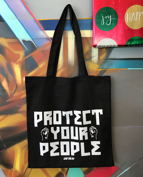 Protect Your People tote bag