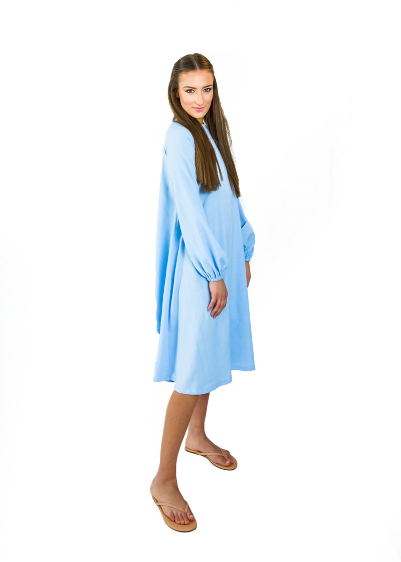 Shift Dress- Baby Blue