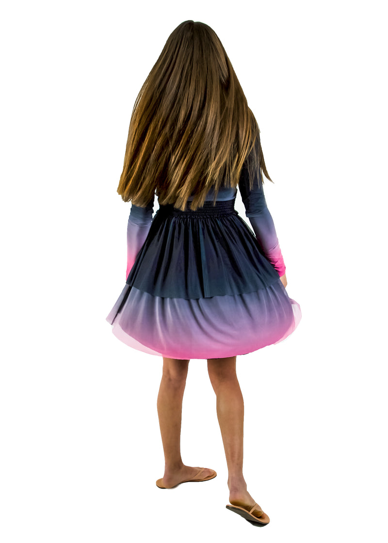 Tiered Skirt- Tie dye