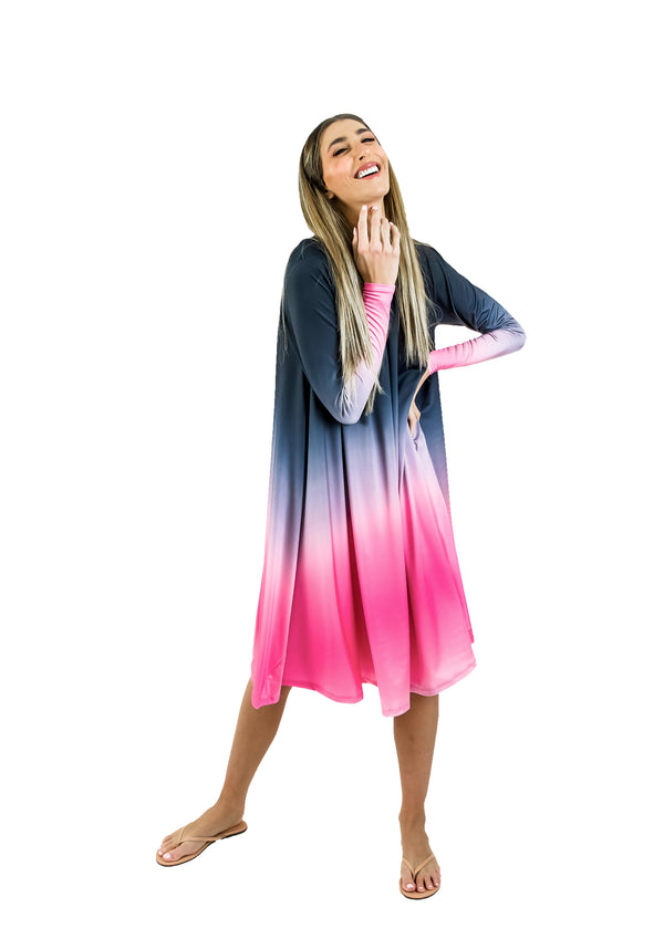 Grecian Dress- Tie Dye