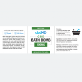 cbdMD Bath Bomb Restore/Theraputic 100mg