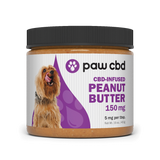 paw cbd/ cbdMD CBD Infused Peanut Butter 150mg/16oz 5mg per tbs