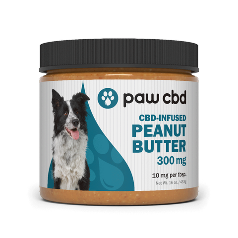 paw cbd / cbd MD CBD Infused Peanut Butter 300mg/16oz 10mg per tbs