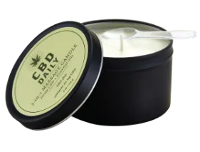 CBD Daily 3-in-1 Massage Candle 6oz 30mg