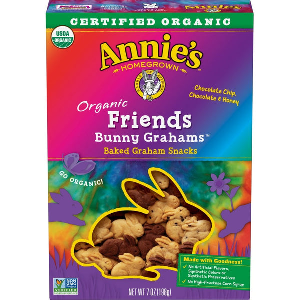 Annie's Homegrown Bunny Grahams - Friends, 198g.