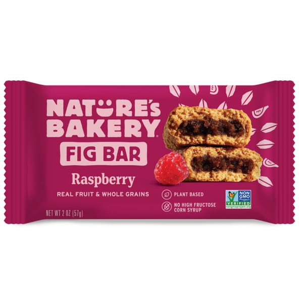 Nature's Bakery Raspberry Fig Bar (Whole Wheat), 57g.