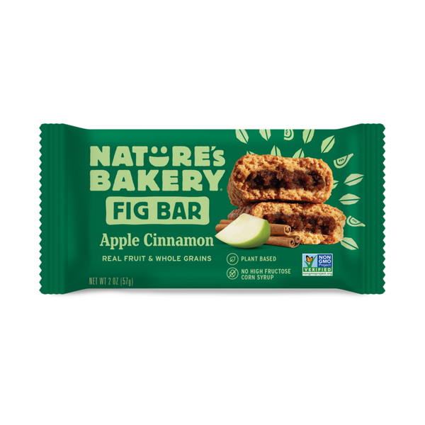 Nature's Bakery Apple Cinnamon Fig Bar (Whole Wheat) 57g.