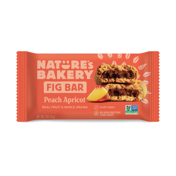 Nature's Bakery Peach Apricot Fig Bar (Whole Wheat), 57g.