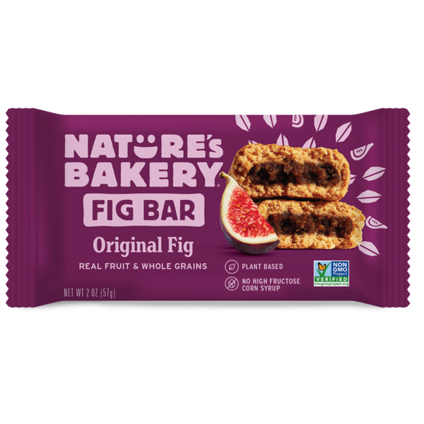 Nature's Bakery Original Fig Bar (Whole Wheat), 57g.