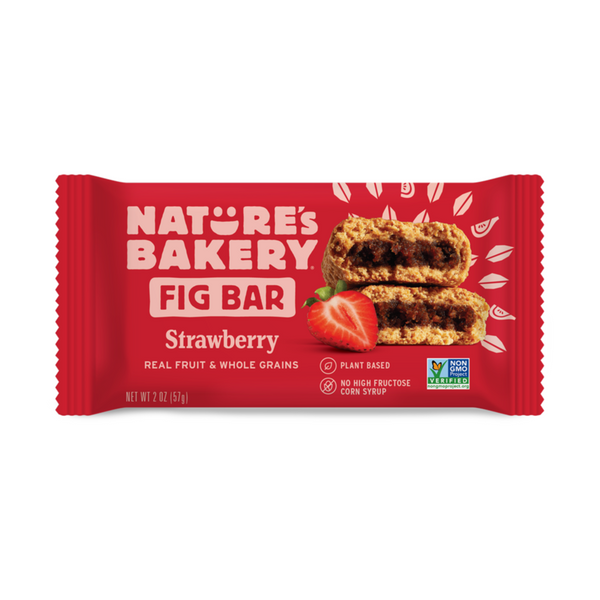 Nature's Bakery Strawberry Fig Bar (Whole Wheat), 57g.
