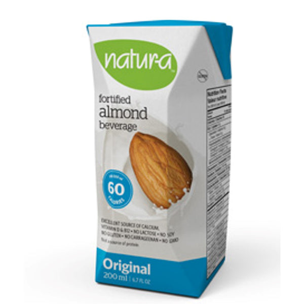 Natur-a Enriched Almond Beverage - Original, 200 ml. [Expiry: Nov2020] - Single Pack