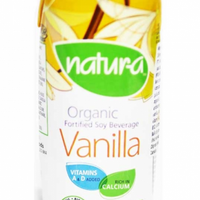 Natur-a Enriched Soy Beverage - Vanilla (Organic), 200 ml. - Single Pack