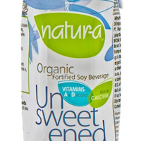 Natur-a Enriched Soy Beverage - Unsweetened (Organic), 200 ml. - Single Pack