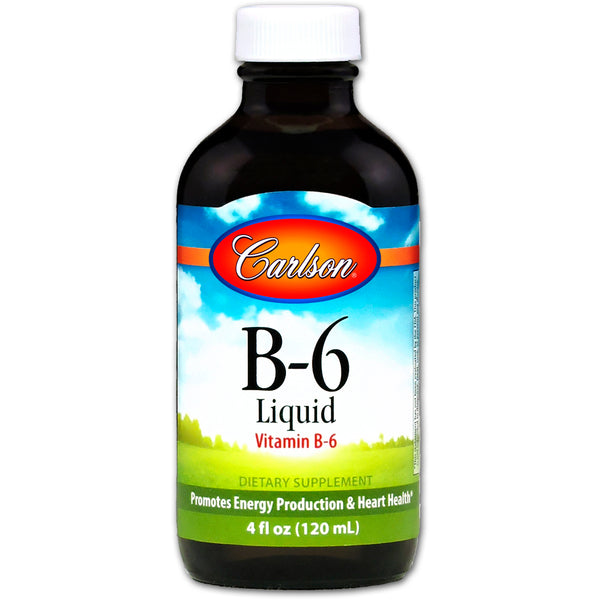 Carlson Labs Vitamin B-6 Liquid, 120 ml.