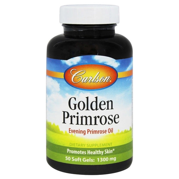 Carlson Labs Golden Primrose 1300mg, 50 sgls.