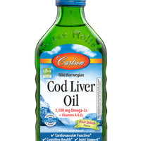 Carlson Norwegian Cod Liver Oil- Fruit Splash, 250ml.
