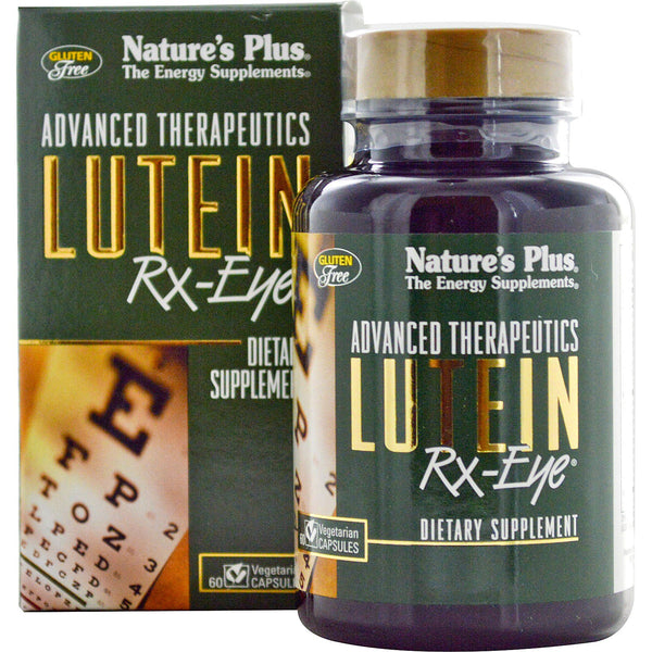 Natures Plus Lutein Rx-Eye, 60 caps.
