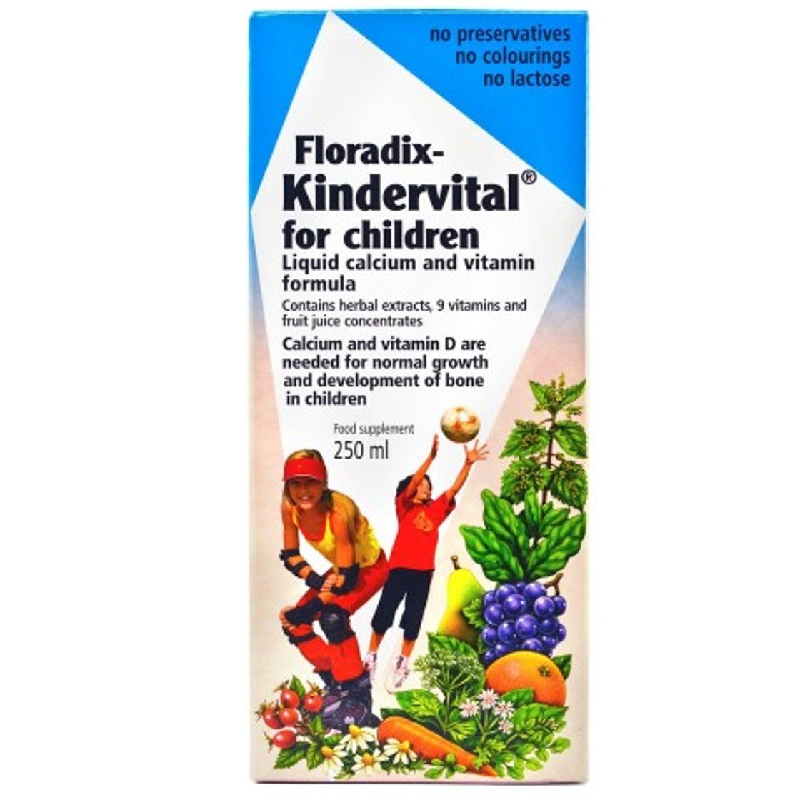 Salus Haus Floradix Kindervital for Children, 250 ml-NaturesWisdom