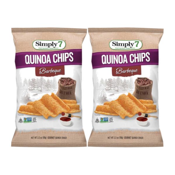 25% Off [Bundle of 2] Simply 7 Quinoa Chips - BBQ, 99 g