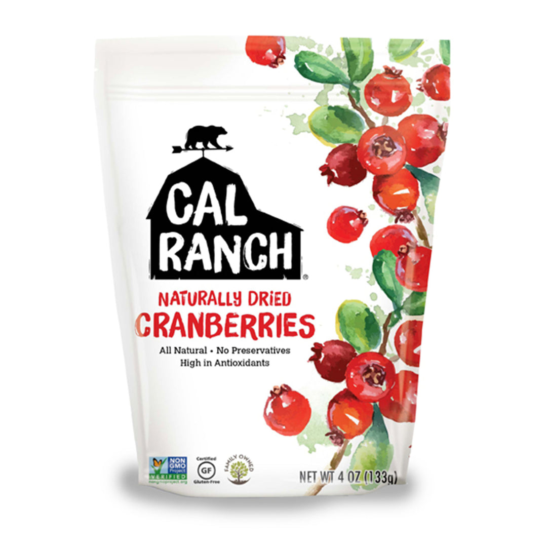 Cal Ranch Classically Dried Cranberries, 113g.