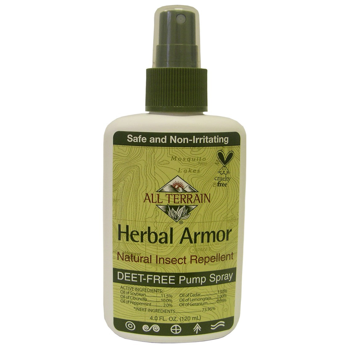 All Terrain Herbal Armor Spray, 120 ml.-NaturesWisdom
