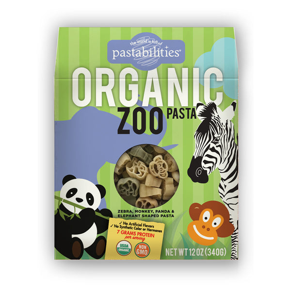 Pastabilities Organic Zoo Shaped Pasta, 340g