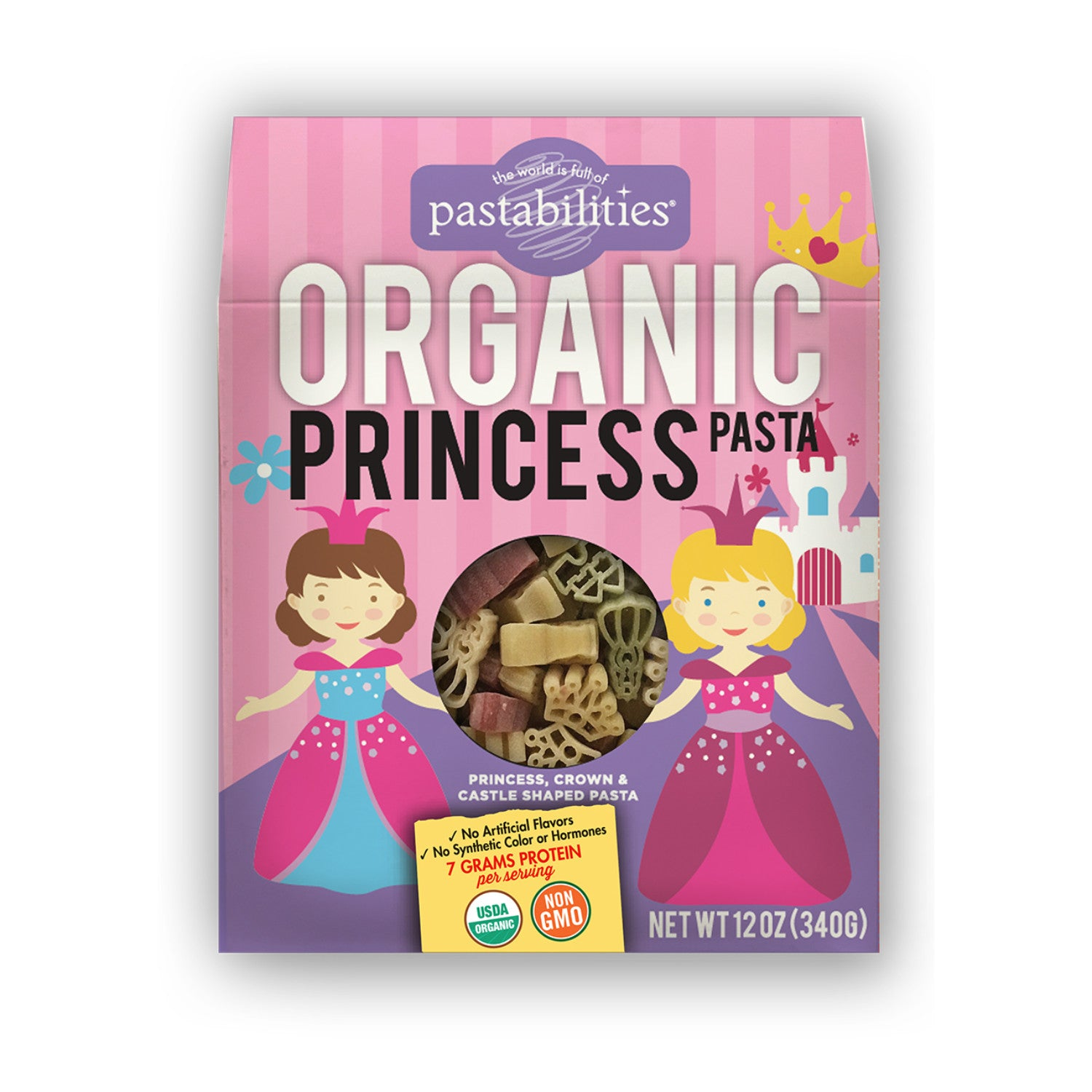Pastabilities Organic Princess Shaped Pasta, 340g-NaturesWisdom