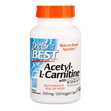 Doctor's Best Acetyl-L-Carnitine, 60 caps.
