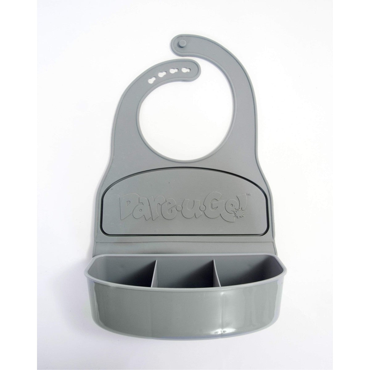 DareUGo DareUGo Bib Food Container, Grey-NaturesWisdom
