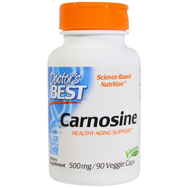 Doctor's Best Carnosine 500 mg, 90 vcaps
