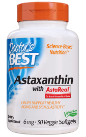 Doctors Best Astaxanthin with AstaPure 6mg 30 sgls