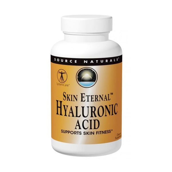 Source Naturals Skin Eternal Hyaluronic Acid 50 mg, 120 tabs.