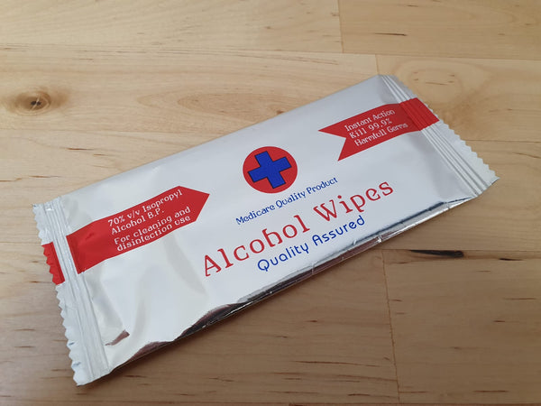 [Bundle of 50]Medicare Quality Product Alcohol Wipes