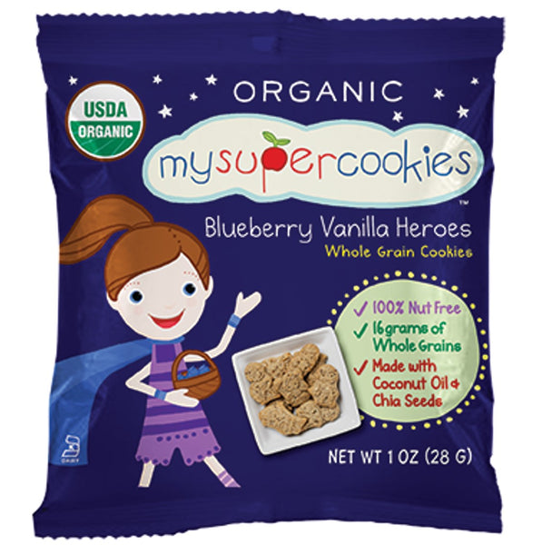 My Super Foods, My Super Cookies- Blueberry Heroes ,29g