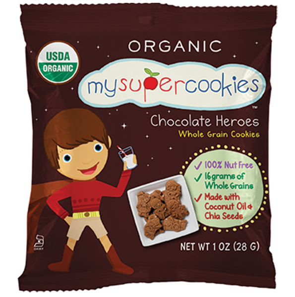 My Super Foods, My Super Cookies- Chocolate Heroes , 29g (Exp:19/5/21)