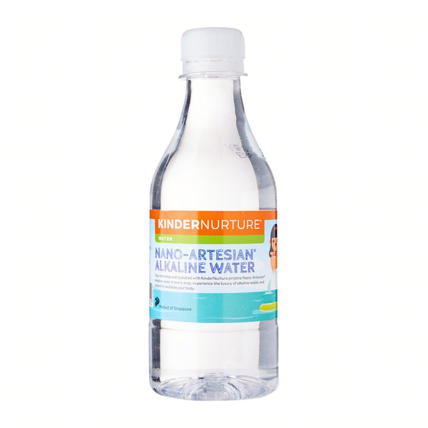 [Carton Sales] KinderNurture Nano Artesian Alkaline Drinking Water, 350ml x 24 bottles  (Exp: Jan2021)