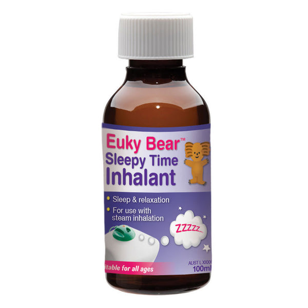 Euky Bear Sleepy Time Inhalant 100ml.