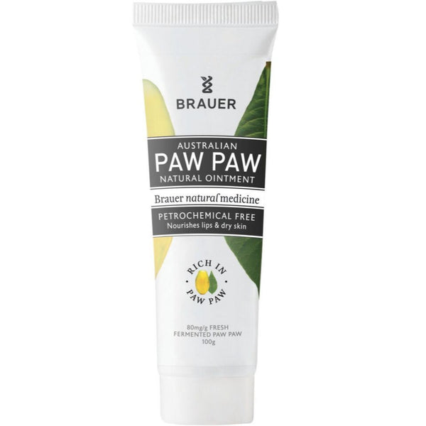 Brauer Paw Paw Natural Ointment (Tube), 100g.