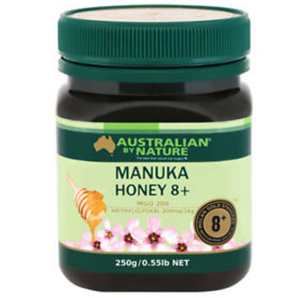 Australian By Nature Bio-Active Manuka Honey NPA 8+, 250 g.