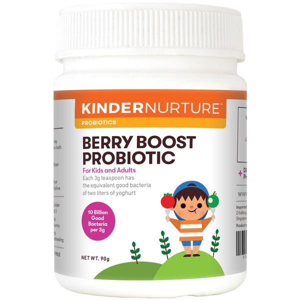 KinderNurture Berry Boost Probiotic Powder, 90g