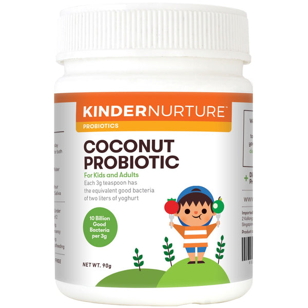 KinderNurture Coconut Powder Probiotic Powder, 90g