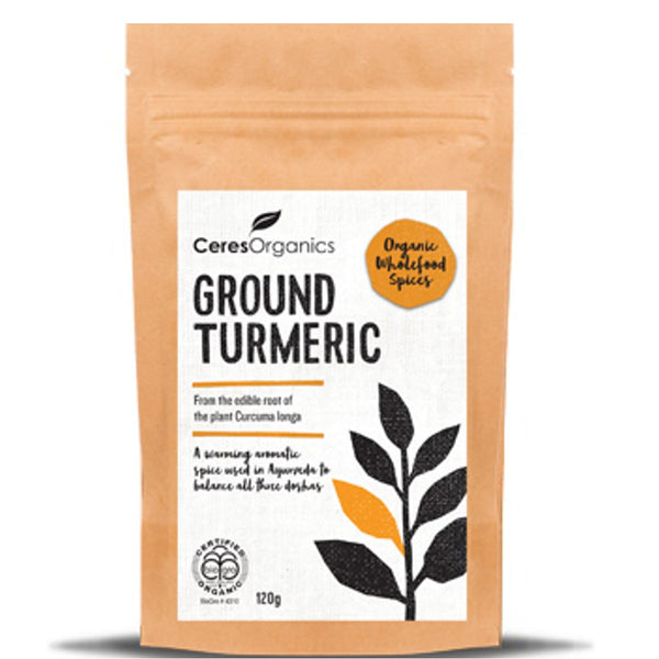 Ceres Organics Ground Tumeric,100g